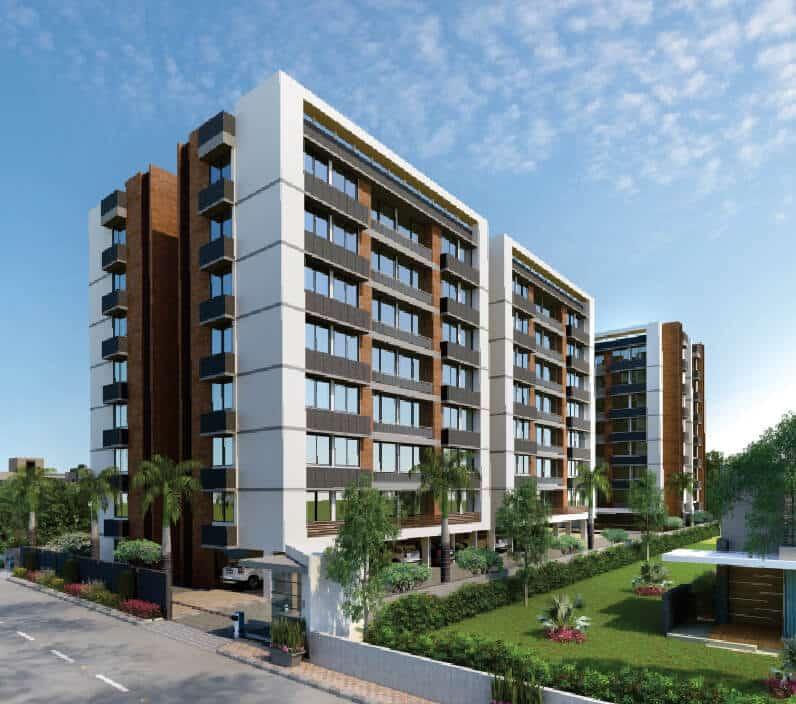 Palash Residences <span>(3 BHK Flats @ Bopal)</span>